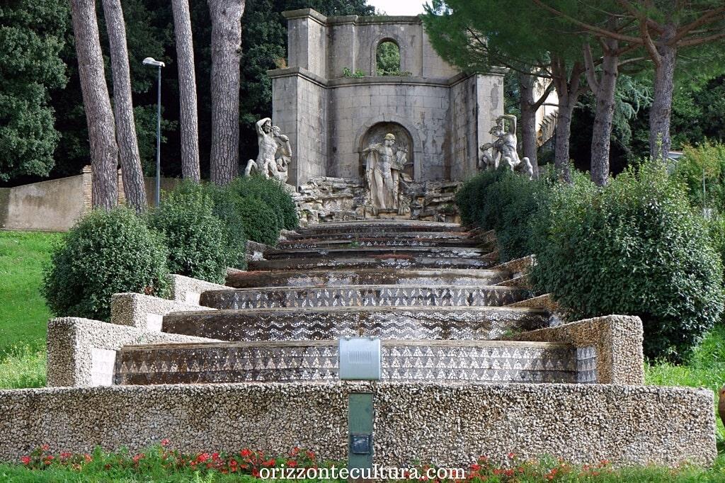 Fontana dell'Orfeo nei Giardini di Villa Barberini, Residenze Pontificie di Castel Gandolfo cosa vedere