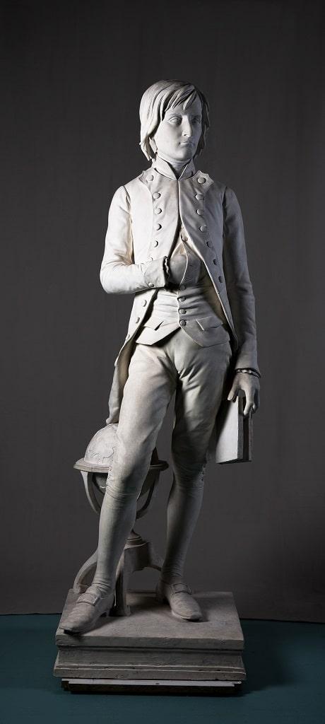 L. Rochet, Statua di Napoleone cadetto a Brienne-le-Chateau, Napoleone e il mito di Roma