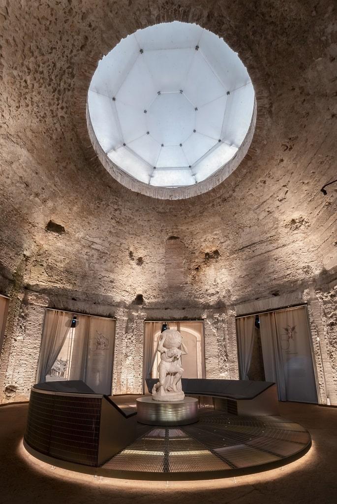 Domus Aurea Sala Ottagona, Raffaello Domus Aurea mostra