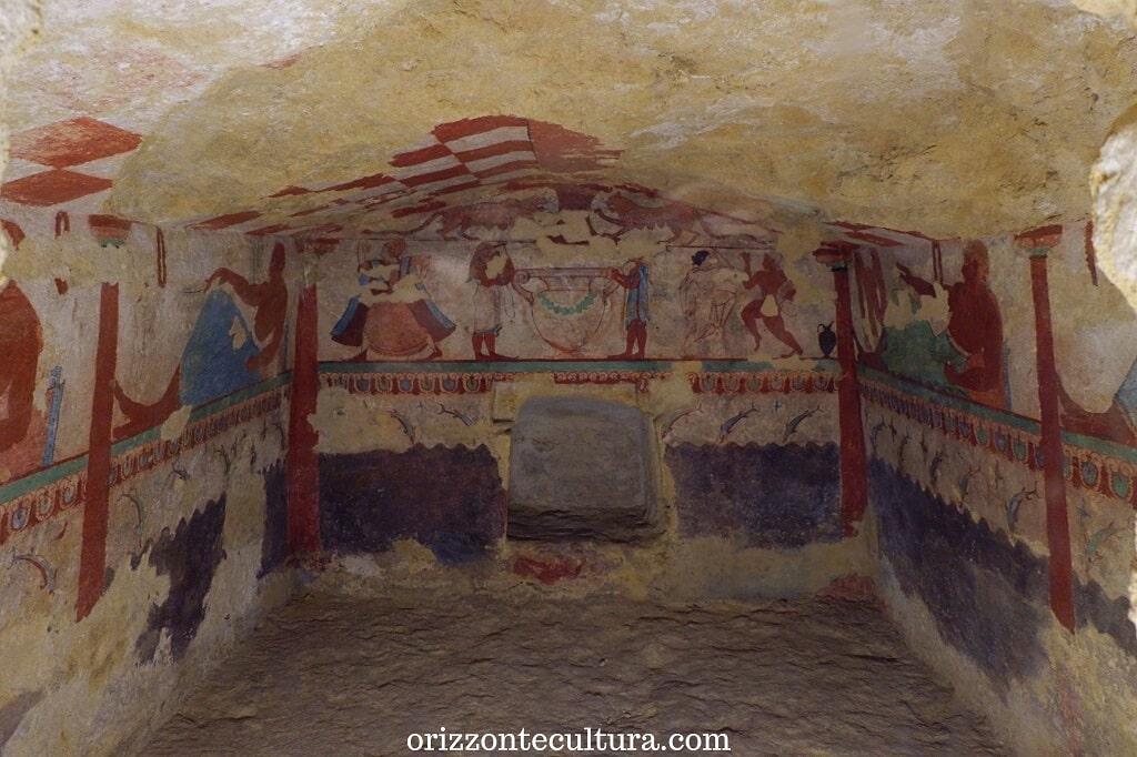 Tomba delle Leonesse, Tarquinia