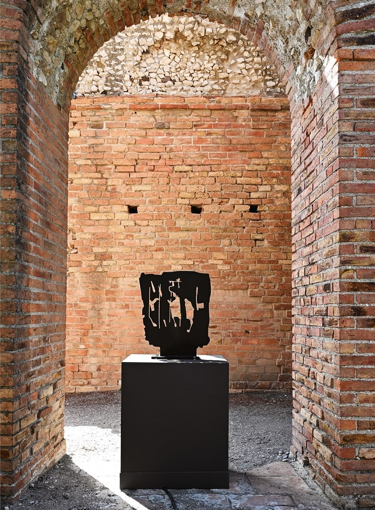 Pietro Consagra, Piana n 9, mostra Pietro Consagra Taormina
