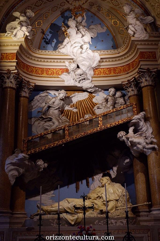 Sant'Alessio disteso sotto la scala, chiesa dei Santi Bonifacio e Alessio