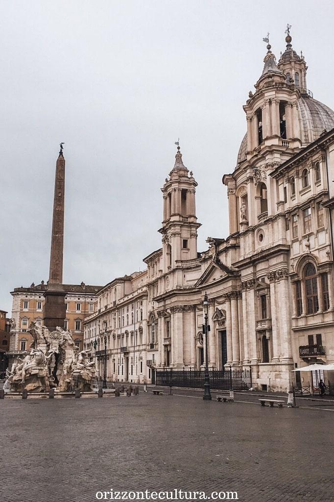 Piazza Navona e la Fontana dei Quattro Fiumi, 24 ore a Roma