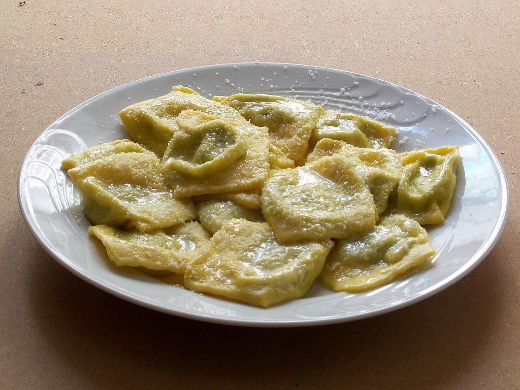 Tortelli d'erbetta, prodotti gastronomici Parma