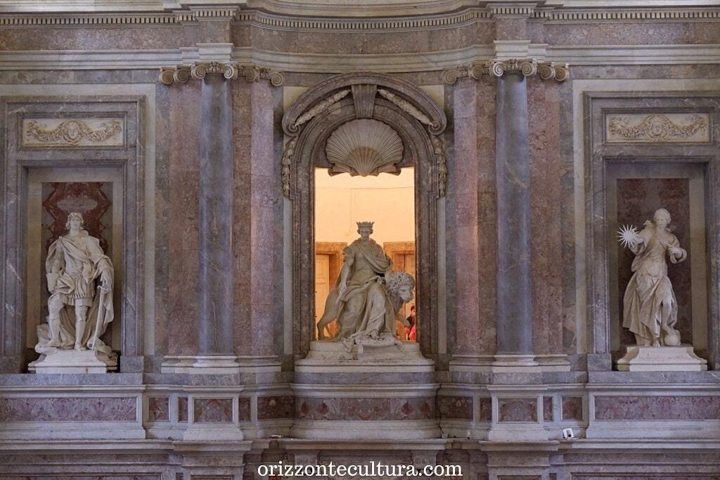 La Maestà Regia, il Merito e la Verità, Palazzo Reale Reggia di Caserta
