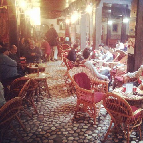 Cafe Divan nella città vecchia (bascarsija) di Sarajevo