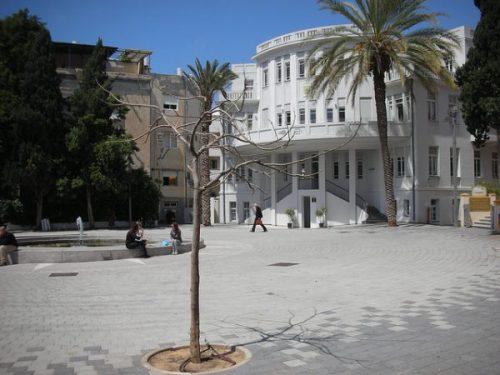Piazza Bialik a Tel Aviv