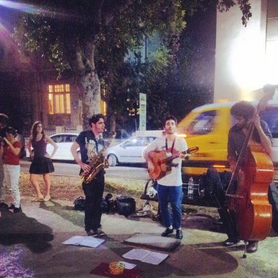 Musica su Rothschild a Tel Aviv