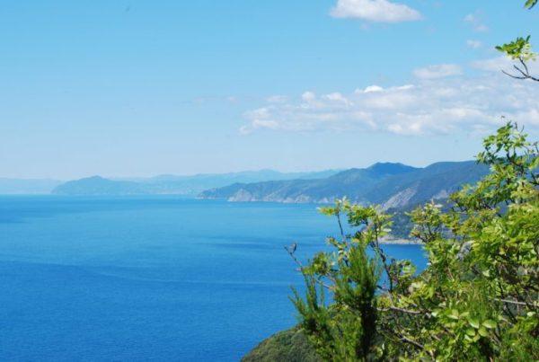 Il sentiero fra Levanto e Monterosso nelle Cinque terre