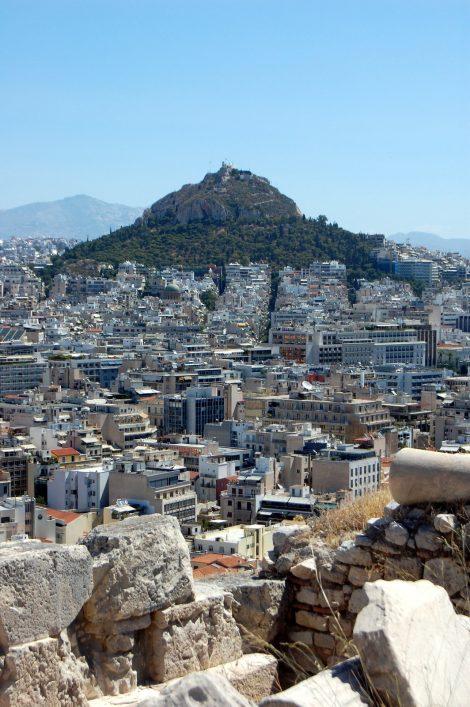 Atene e il Licabetto