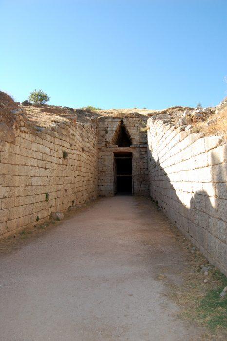 La 'Tomba di Agamennone' a Micene