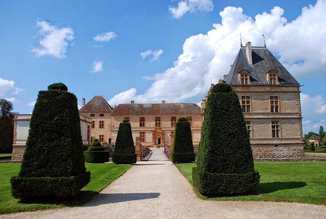 Borgogna: il castello di Cormatin