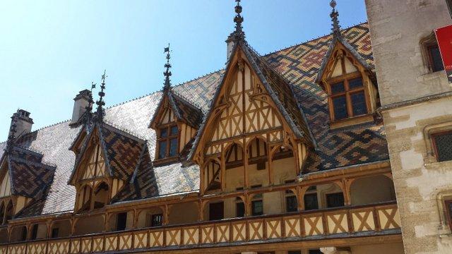 Viaggio in Borgogna: Hotel Dieu, a Beaune
