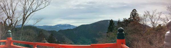 Panorama from Kurama-dera