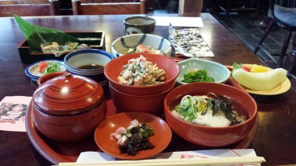 Shojin-ryori in Kurama