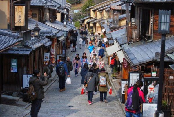 Kyoto in tre giorni: Sannenzaka