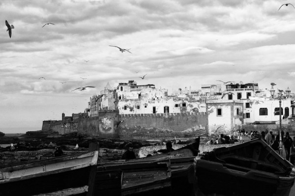 Essaouira dal porto (foto di Patrick Colgan, 2010)