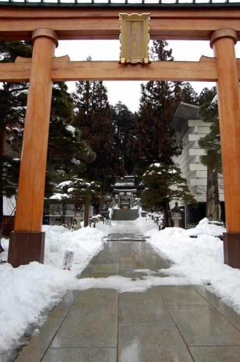 Il tempio Sakurayama Hachiman-gu (Takayama, foto di Patrick Colgan, 2013)