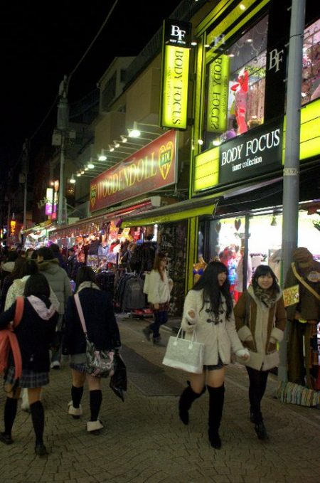 Takeshita dori, Harajuku (foto di Patrick Colgan, 2011)