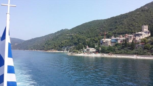 A trip to Mount Athos: the ferry