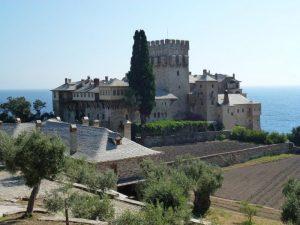 Il monastero di Stavronikita