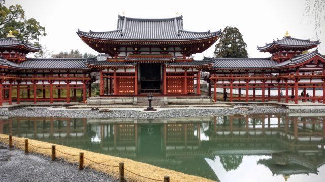 Il tempio Byodo-in a Uji