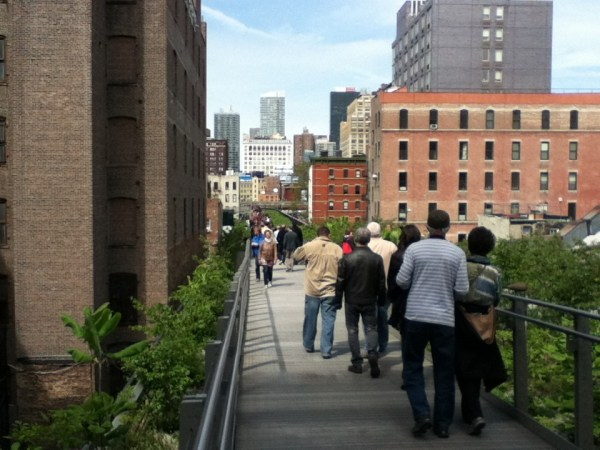 High Line, New York (foto di Patrick Colgan, 2012)