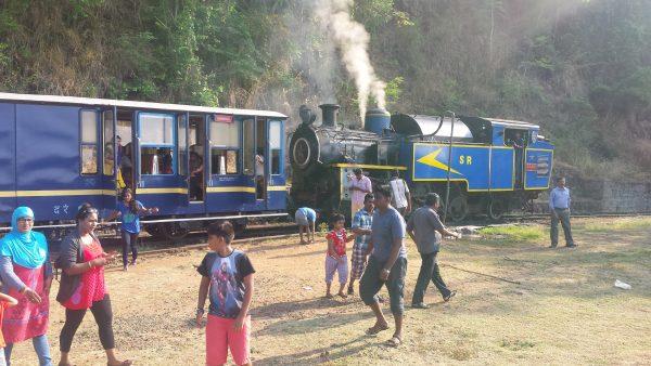 La locomotiva del toy Train per Ooty (foto di Patrick Colgan, 2016)