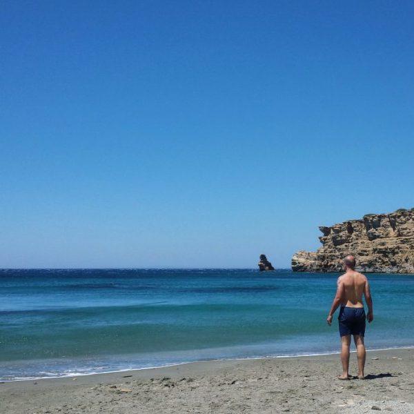 Spiagge di Creta: Triopetra est
