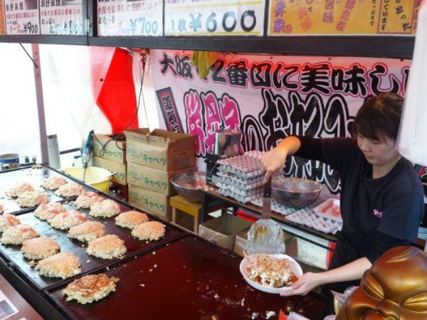 Takayama, a classic of street food: okonomiyaki