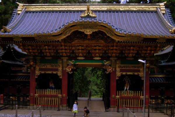 Il santuario Taiyuinbyo, a Nikko