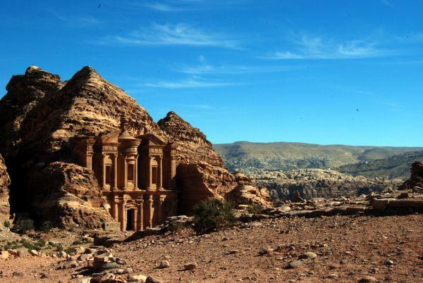 Petra in inverno: il Monastero