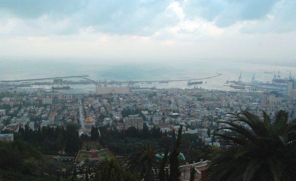 Haifa dall'alto