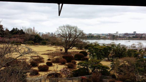 Mito, Kairakuen: the view from Kobuntei