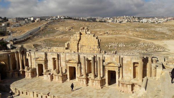 Il teatro di Jerash, Giordania
