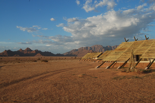 Il Desert Quiver camp, di Sesriem