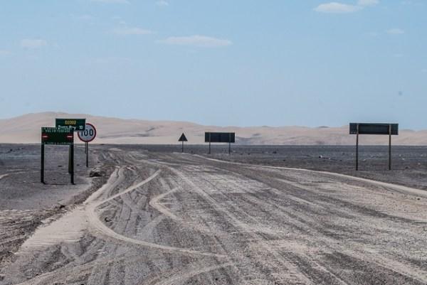 Le dune che compaiono prima di Torra Bay, quando prendiamo la strada che si inoltra verso l'interno - Skeleton Coast
