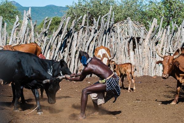 Il villaggio Himba, Namibia