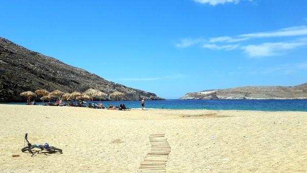 La spiaggia di Vagia, Serifos