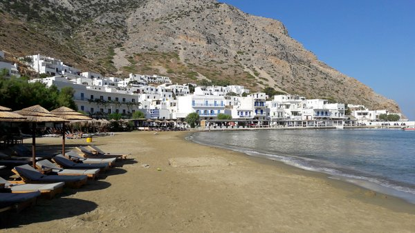 Le spiagge di Sifnos: Kamares
