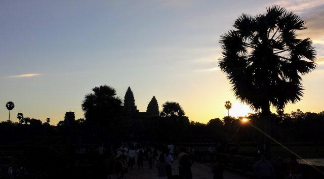 L'alba ad Angkor Wat