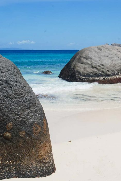 Viaggio indipendente alle Seychelles: Carana beach