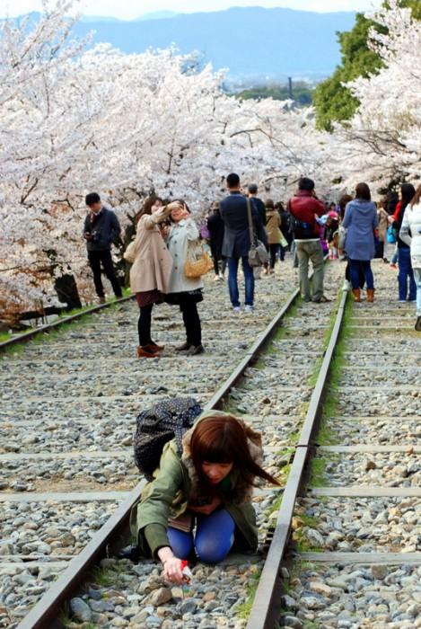 La vecchia ferrovia del lago Biwa, Keage - Kyoto
