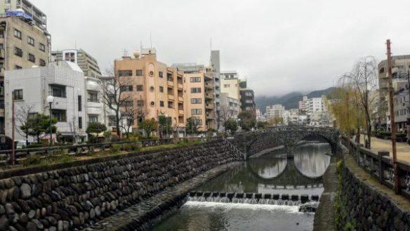 Ponte degli occhiali, Nagasaki