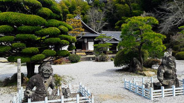 Il tempio Mangetsu-ji