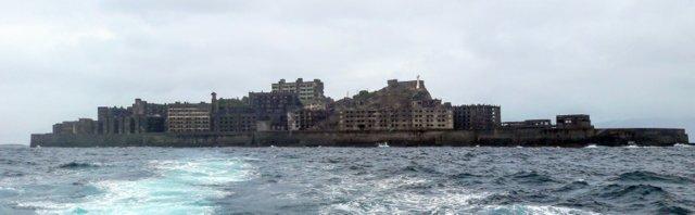 Hashima, l'isola nave da guerra