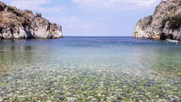 La spiaggia di Alypa