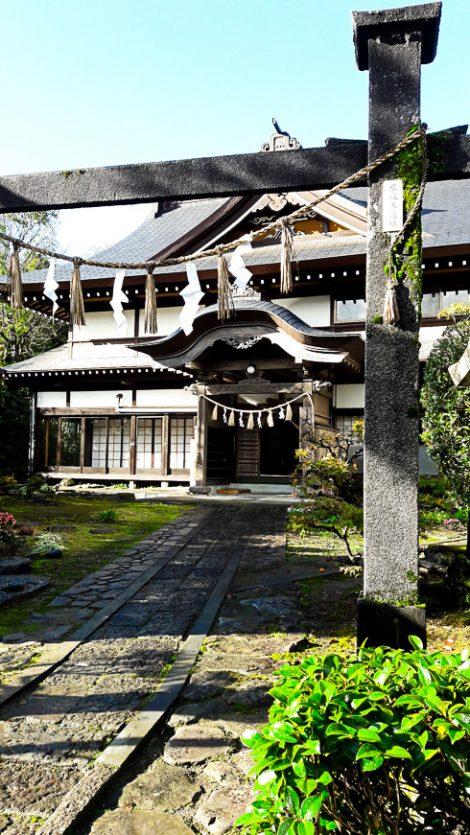 Il tempio Daishinbo, dove abbiamo alloggiato