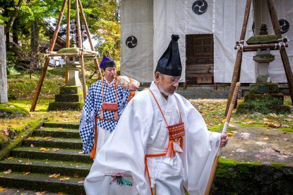 Yamabushi al monte Haguro