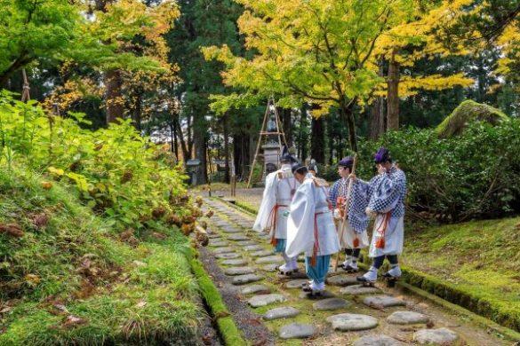Yamabushi sul monte Haguro